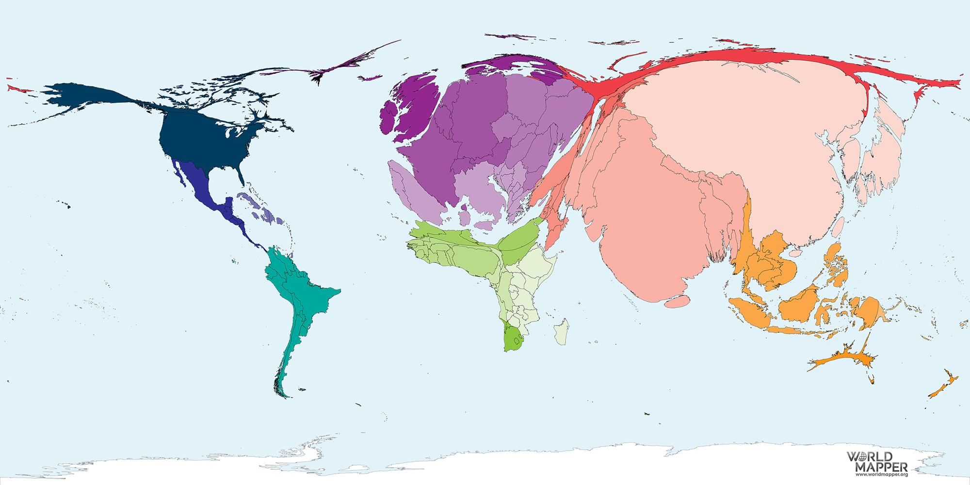 Population year 1900 worldmapper population year 1900 sciox Images