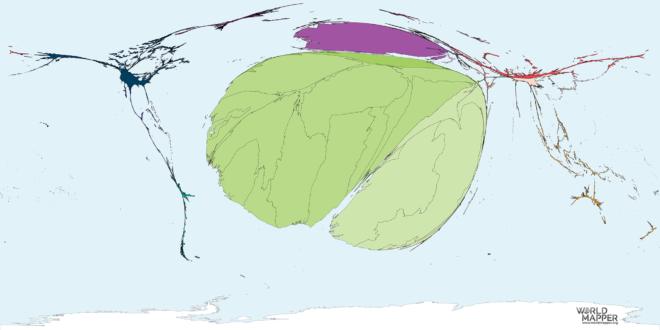 Migration to Mali 1990-2017