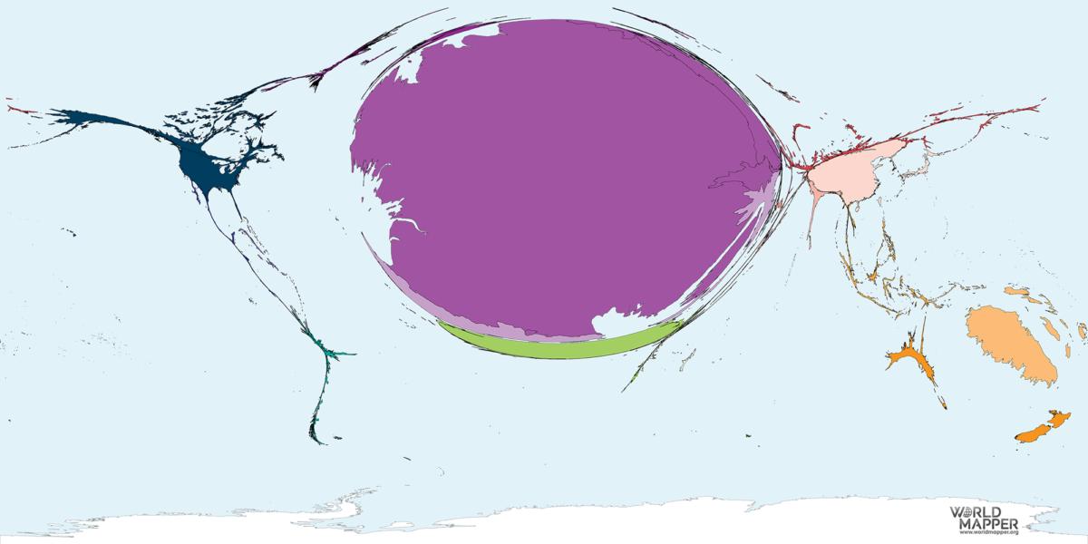 Migration to French Polynesia 1990-2017