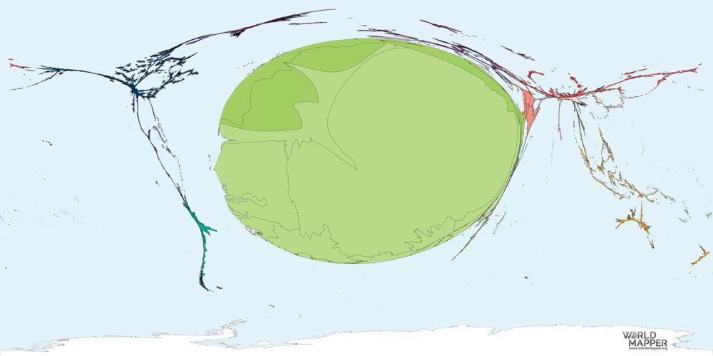 Migration to Mauritania 1990-2017