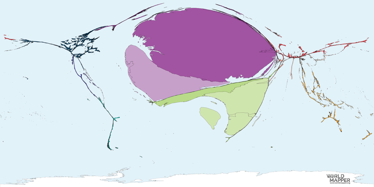Migration to Equatorial Guinea 1990-2017