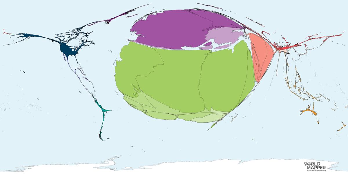 Migration to Tunisia 1990-2017