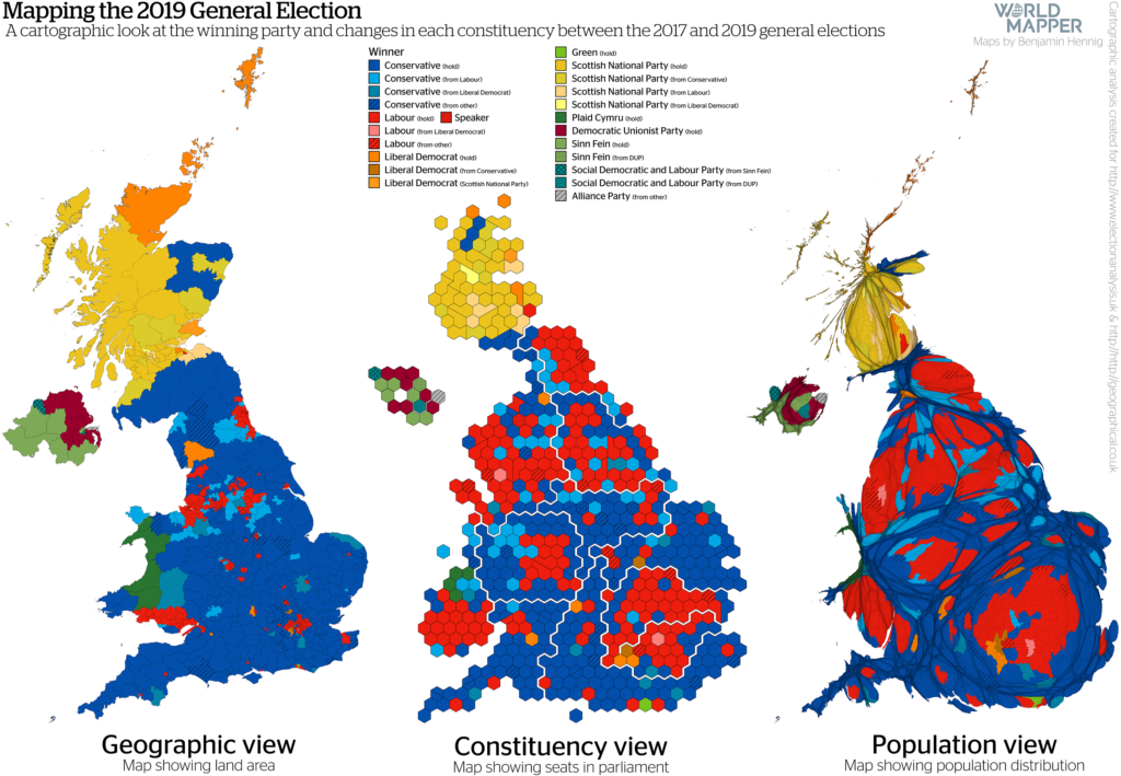 UK General Election Results 2019: Winners & Changes