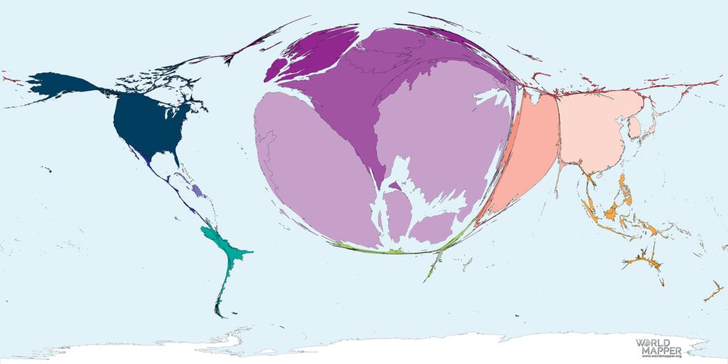 Accumulated Coronavirus deaths as of 01 April 2020