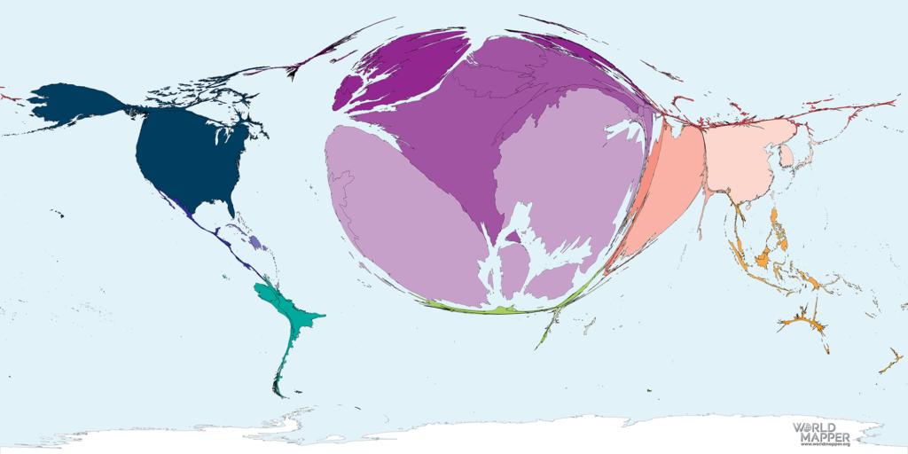 Accumulated Coronavirus deaths as of 05 April 2020