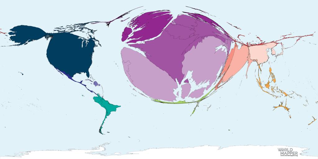 Accumulated Coronavirus deaths as of 13 April 2020