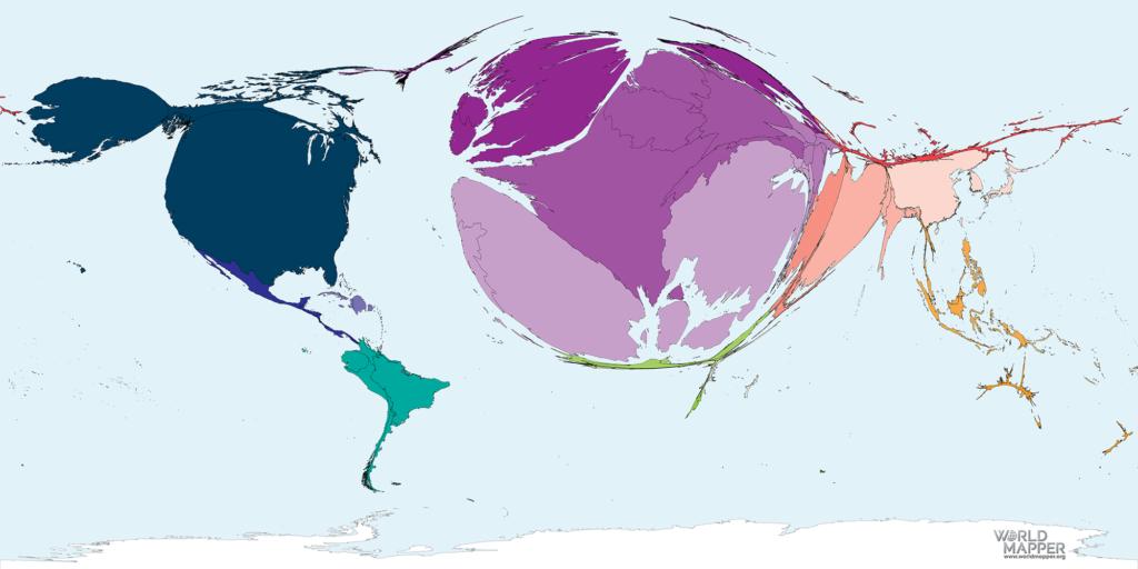 Accumulated Coronavirus deaths as of 23 April 2020