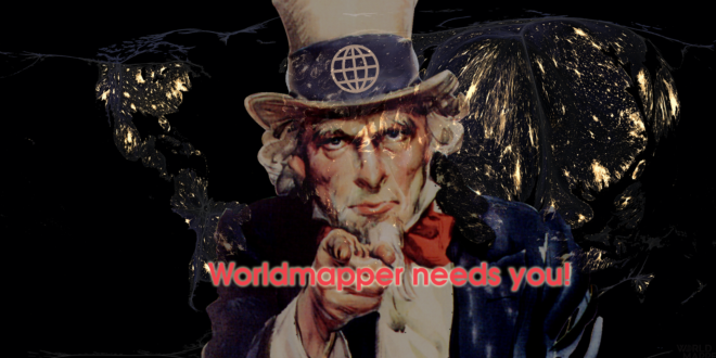 Worldmapper needs you!