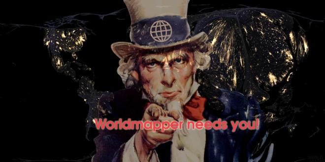 Worldmapper needs you!